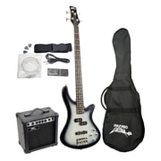 Pyle® Professional Full Size Electric Bass Guitar Package With Amplifier