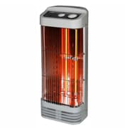 Optimus H-5232 1500 W Tower Quartz Heater With Thermostat, White