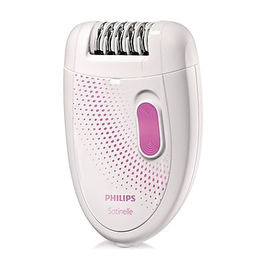Philips Satinelle Electric Epilator, White