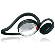 Philips Neckband Headphones, Black