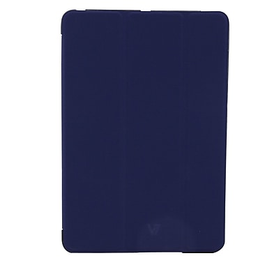 Tri-Fold Folio Case For iPad, Dark Blue