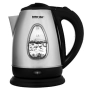 Better Chef® 1.8 Liter Cordless Electric Kettle, Silver