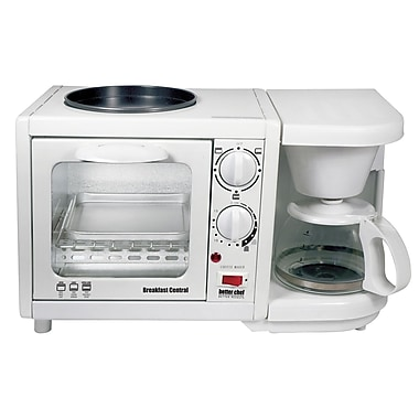 Better Chef® Breakfast Central 3-in-1 Meal Maker, White