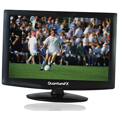 QFX 18 1/2in. LED TV With ATSC/NTSC TV, Black