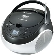 Naxa® NPB-252 MP3/CD Players with AM/FM Stereo Radio