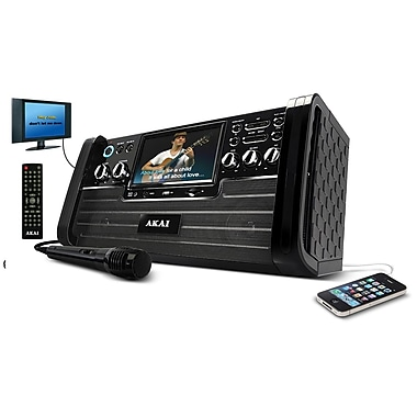 Akai KS-886 2 x 5 W DVD/CD+G Karaoke Player With 7in. TFT & USB Slot