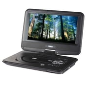 "Naxa® NPD-952 9"" TFT LCD Swivel Screen Portable DVD Player With USB/SD/MMC Inputs"