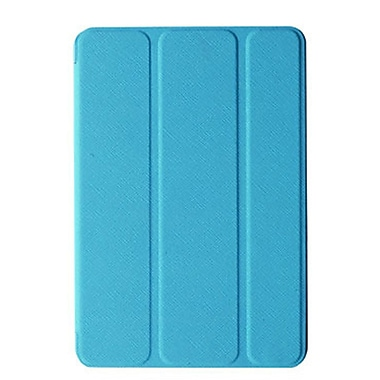 Tri-Fold Folio Case For iPad, Blue