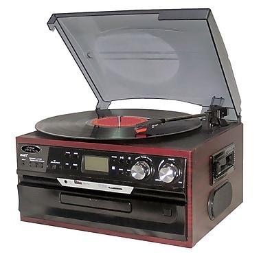 Pyle® PTTCDS7U Vintage Styled Turntable, 33 1/3/45/78 RPM