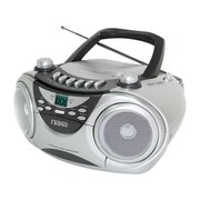 Naxa® NPB-241 Portable CD Player With AM/FM Stereo Radio/Cassette Player/Recorder