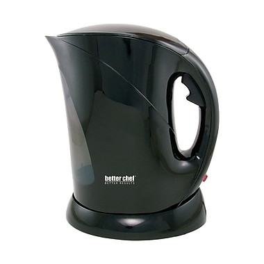 Better Chef® 1.7 Liter Cordless Electric Kettle, Black