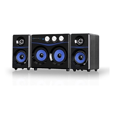 Technical Pro BLUET8X Powered Bluetooth 2.1 Loudspeaker, Black