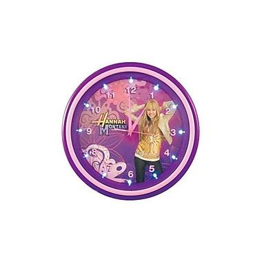KNG 001732 Hannah Montana LED Clock, Pink