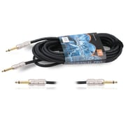 Technical Pro CQQ-Series 100' 16 Gauge 1/4 to 1/4 Speaker Cable, Black