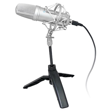 Technical Pro UMC600 Professional USB Condenser Microphone, Black