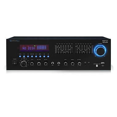 Technical Pro RX51URI Professional Receiver With USB and SD Card Inputs, Black