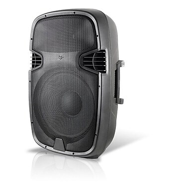 Technical Pro PW1555UI 15in. 2 Way Active Loudspeaker With USB/SD Card Inputs and iPod, Black
