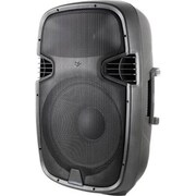Technical Pro PW1255UI 12 2 Way Active Loudspeaker With USB/SD Card Inputs and iPod, Black