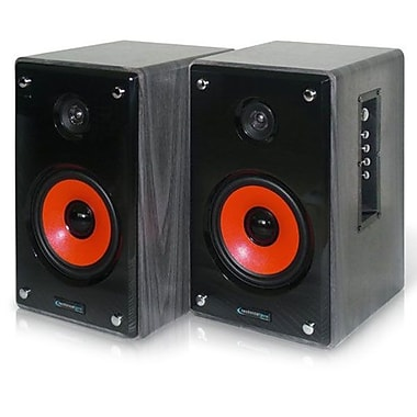 Technical Pro MRS8UR 500 W Active & Passive USB Studio Monitors, Black/Grey