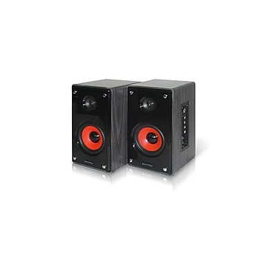 Technical Pro MRS6UR 400 W Active & Passive USB Studio Monitors, Black/Grey