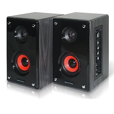 Technical Pro MRS5UR 300 W Active & Passive USB Studio Monitors, Black / Grey