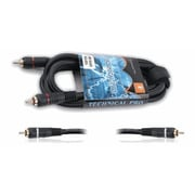 Technical Pro CRR-Series 6' 18 Gauge RCA to RCA Audio Cable, Black