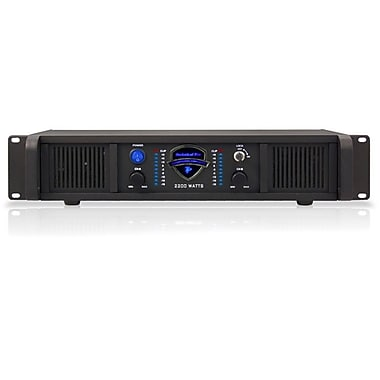 Technical Pro LZ2200 2U 2200 W Professional 2CH Power Amplifier, Black