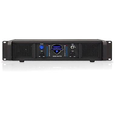 Technical Pro LZ2200 2U 2200 W Professional 2CH Power Amplifier, Black