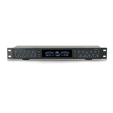 Technical Pro EQ5151 Professional Dual 10 Band Equalizer, Black