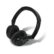 Technical Pro 93579601M Over-Ear Stereo Headphone with Mic, Black
