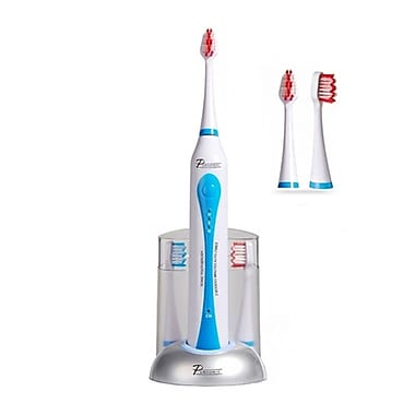 Pursonic™ S400-DELUXE Rechargeable Toothbrush With Bonus 12 Brush Heads