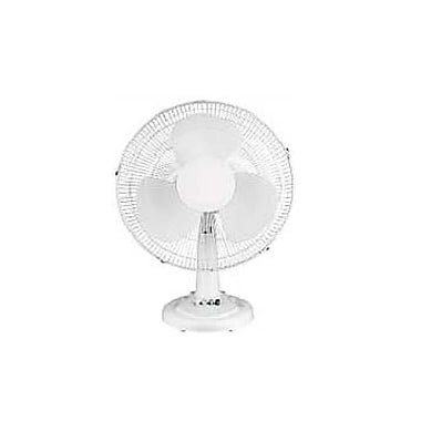 Optimus F-1211 12in. Oscillating Table Fan