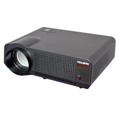 Pyle® PRJLE84H 120in. Viewing Screen HD Widescreen Projector With Speakers, Black