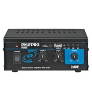Pyle® PCAU22 Mini 2 x 40 W Stereo Power Amplifier With USB Input