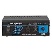 Pyle® PCAU33 Mini 2 x 75 W Stereo Power Amplifier With USB Input