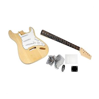 Pyle® You Build The Guitar Unfinished Strat Electric Guitar Kit