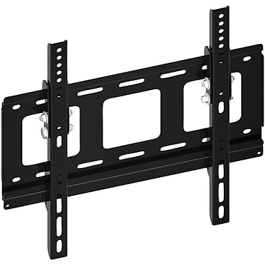 Pyle® PSW128ST 23in.-37in. Flush/Tilt Wall Mount For Ultra Thin Flat Panels TV Up To 77 lbs.