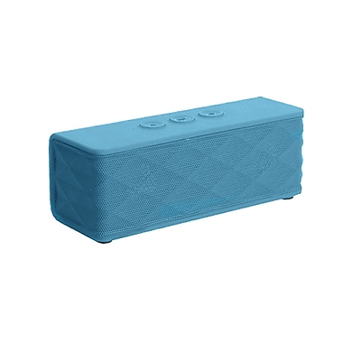 Supersonic® SC-1365BT Portable Bluetooth Rechargeable Speaker, Blue