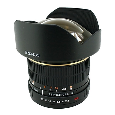 Rokinon® RK24M 24mm F/22 - F/1.4 Asherical Wide Angle Lens For Olympus 4/3 DSLR
