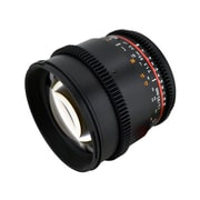 Rokinon® CV85M 85 mm T/22 - T1.5 Cine Aspherical Lens For Sony Alpha DSLR