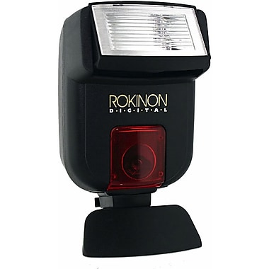 Rokinon® D20AF TTL Cobra Type Camera Flash For Sony Alpha A230/A350/A380 DSLR Cameras