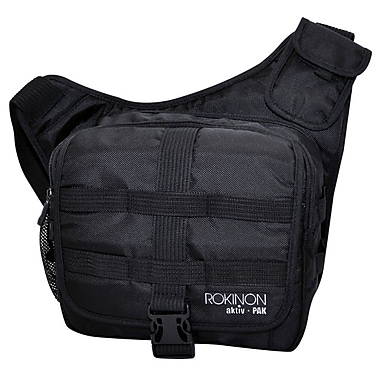 Rokinon® Aktiv Pak 80 DSLR Camera Messenger Bag, Black