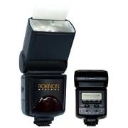 Rokinon® D980AFZ TTL PowerZoom Bounce Swivel Camera Flash For Pentax K20D/K200D/K10D DSLR Cameras