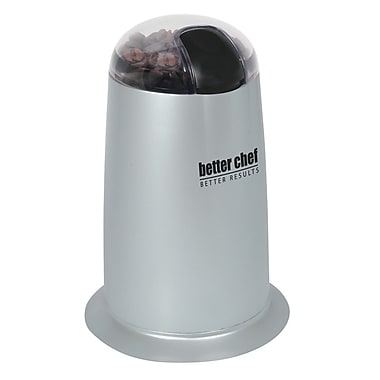 Better Chef® Coffee Grinder, Silver