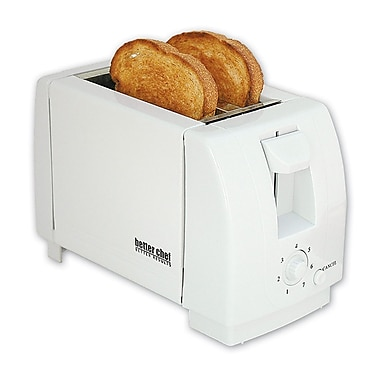Better Chef® Two Slice Toaster, White