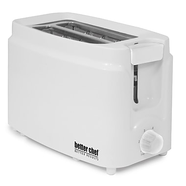 Better Chef® Two Slice Cool Touch Toaster, White