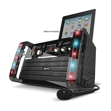 Akai KS-213 2 x 1.8 W CDG Portable Karaoke System W/iPad Cradle & Line Input