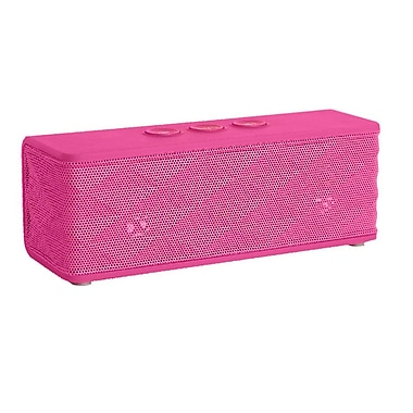 Supersonic® SC-1365BT Portable Bluetooth Rechargeable Speaker, Pink