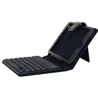 Supersonic® SC-308KB Bluetooth Keyboard and Case For iPad Mini, Black