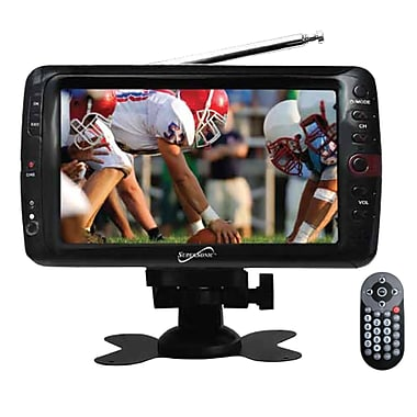 Supersonic® 7in. Portable Rechargeable Digital LCD TV